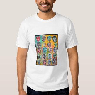 20 Faces T Shirts