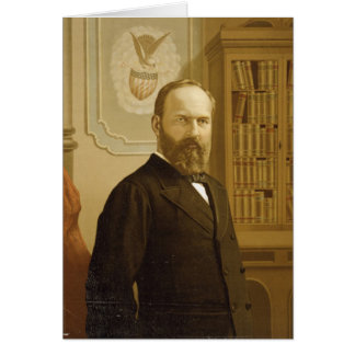 20 James Abram Garfield Card
