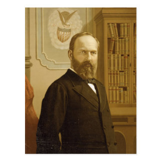 20 James Abram Garfield Postcard