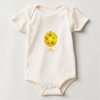 20-sided Die Baby Bodysuit