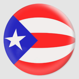 20 small stickers Puerto Rico flag