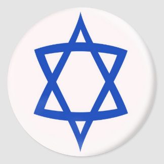 20 small stickers Star of David flag