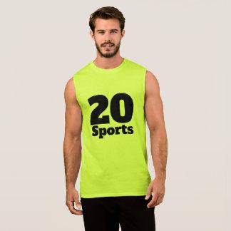 20 Sports Sleeveless Shirt