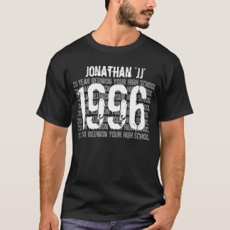 20 Year High School Reunion 1996 or Any Year V02A T-Shirt