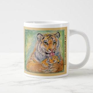 20oz Jumbo Tiger Mug