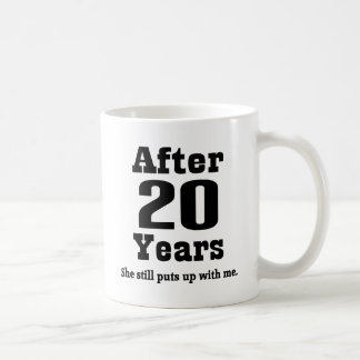 20th Anniversary (Funny) Coffee Mug