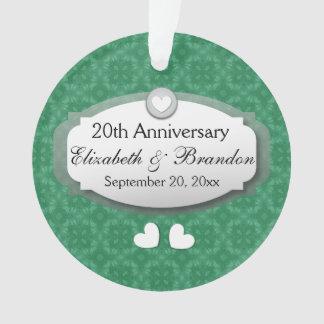 20th Anniversary Wedding Anniversary Diamond Z07