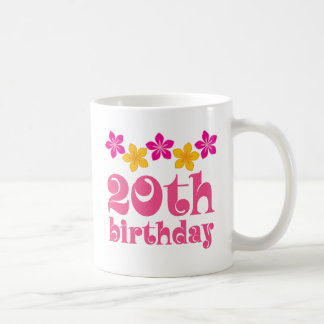 20th Birthday Gift Ideas Coffee Mug