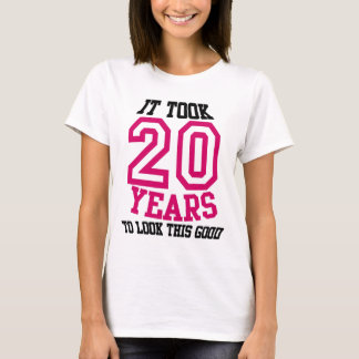 20th Birthday TSHIRT