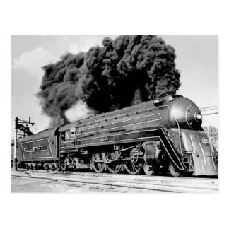 20th Century Limited Train Highball It! Vintage Postcard