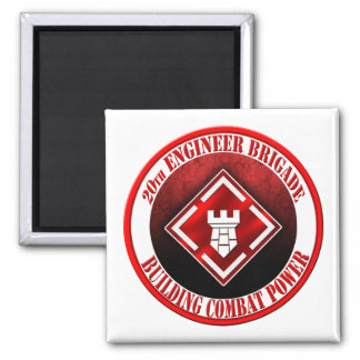 20th Engineer Brigade 003 Magnet