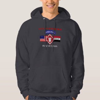 20TH ENGINEER BRIGADE IRAQ WAR HOODED SWEATSHIRT