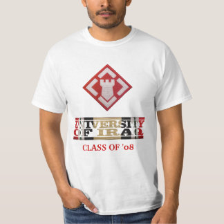 20th Engineer Brigade University of Iraq Shirt
