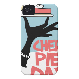 20th February - Cherry Pie Day - Appreciation Day Case-Mate iPhone 4 Case