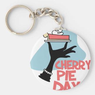 20th February - Cherry Pie Day - Appreciation Day Keychain