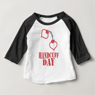 20th February - Handcuff Day Baby T-Shirt