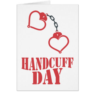 20th February - Handcuff Day Card