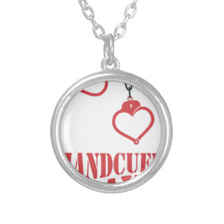 20th February - Handcuff Day Silver Plated Necklace