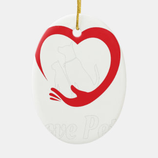 20th February - Love Your Pet Day Ceramic Ornament