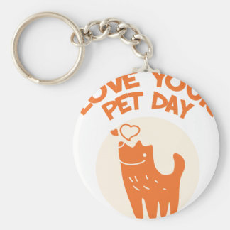 20th February - Love Your Pet Day Keychain