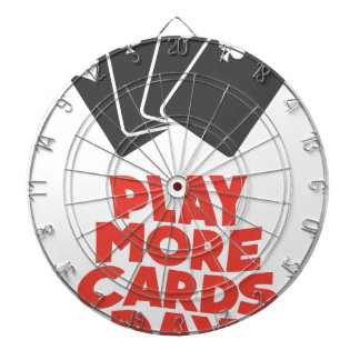 20th February - Play More Cards Day Dartboard