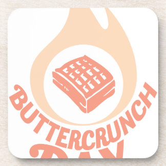 20th January - Buttercrunch Day Coaster