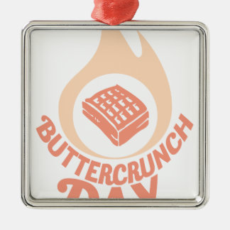 20th January - Buttercrunch Day Metal Ornament
