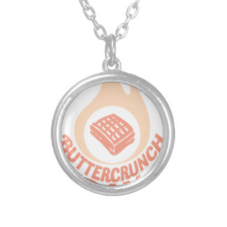 20th January - Buttercrunch Day Silver Plated Necklace
