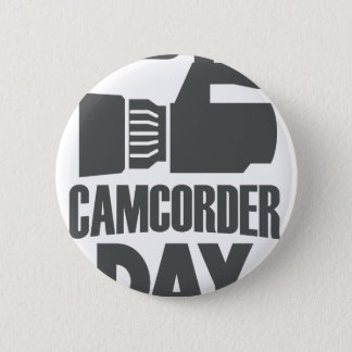 20th January - Camcorder Day 2 Inch Round Button