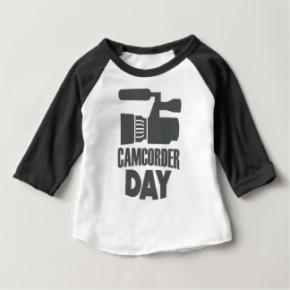 20th January - Camcorder Day Baby T-Shirt
