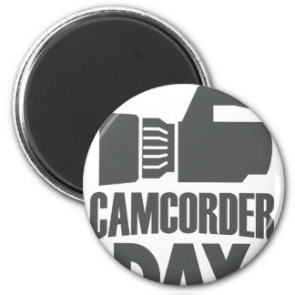 20th January - Camcorder Day Magnet