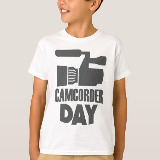 20th January - Camcorder Day T-Shirt