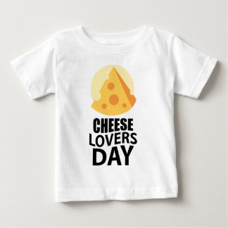 20th January - Cheese Lovers Day Baby T-Shirt