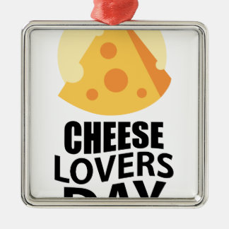 20th January - Cheese Lovers Day Metal Ornament