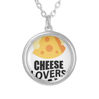 20th January - Cheese Lovers Day Silver Plated Necklace