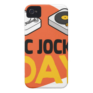 20th January - Disc Jockey Day Case-Mate iPhone 4 Case