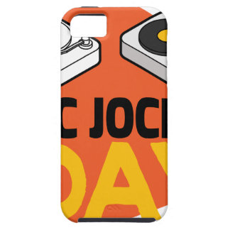 20th January - Disc Jockey Day iPhone 5 Cover