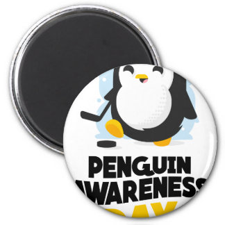 20th January - Penguin Awareness Day Magnet