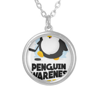 20th January - Penguin Awareness Day Silver Plated Necklace