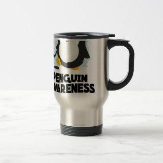 20th January - Penguin Awareness Day Travel Mug