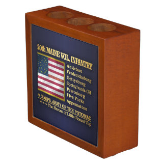 20th Maine Volunteer Infantry (BH) Desk Organizer