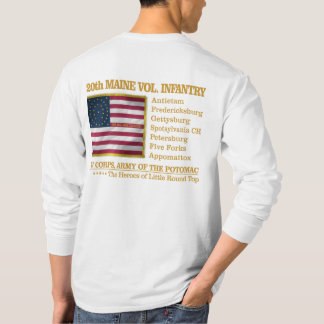 20th Maine Volunteer Infantry (BH) T-Shirt