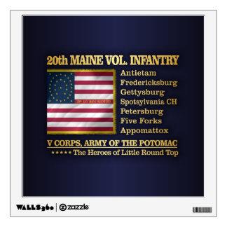 20th Maine Volunteer Infantry (BH) Wall Sticker