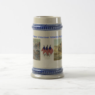 20th maine volunteer infantry regiment Civil War Beer Stein