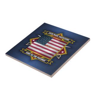 20th Maine Volunteers Ceramic Tile