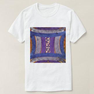 20th Pattern; Curved Bar, Mosaic & Web T-Shirt