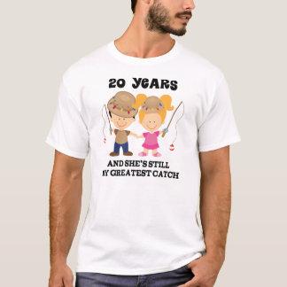 20th Wedding Anniversary Gift For Him T-Shirt