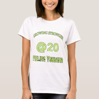 20th year old design on different merchandise T-Shirt
