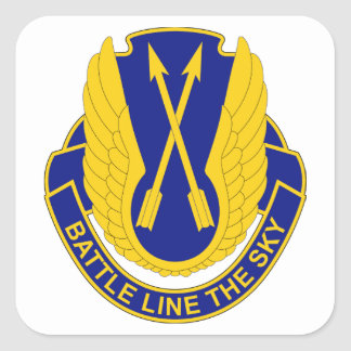 210th Aviation Regiment - Battle Line The Sky Square Sticker