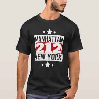 212 Manhattan NY Area Code T-Shirt